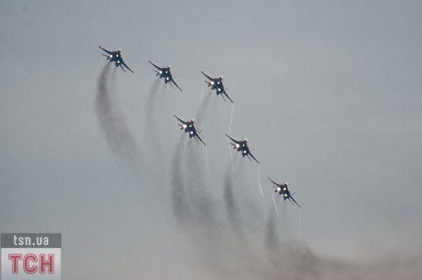 Крупнейший в России международный авиасалон МАКС-2011