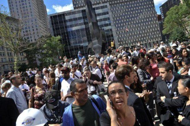 Сильное землетрясение произошло в Вашингтоне и Нью-Йорке