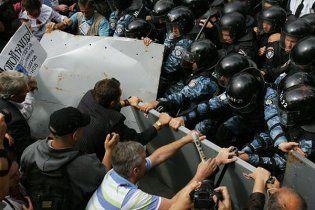 На Крещатике сторонники Тимошенко защищают палатки