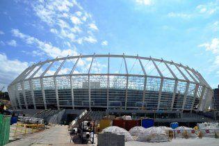 Янукович залишився у захваті від головної арени Євро-2012