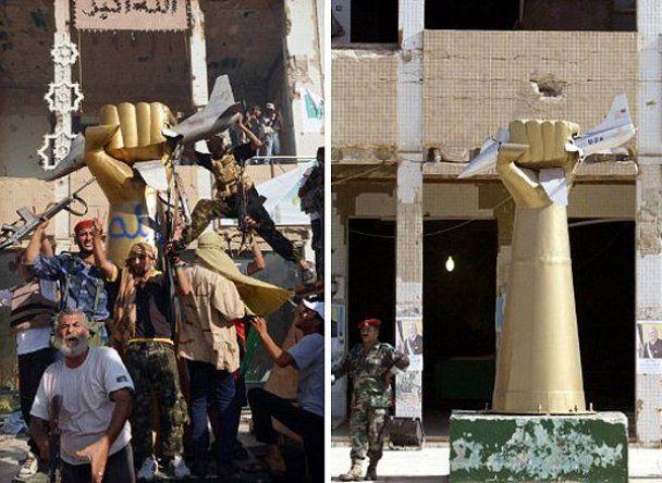 Лівійські повстанці хазяйнують в резиденції Каддафі