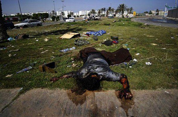 Солдати Каддафі вбили понад 150 полонених, тікаючи з Тріполі