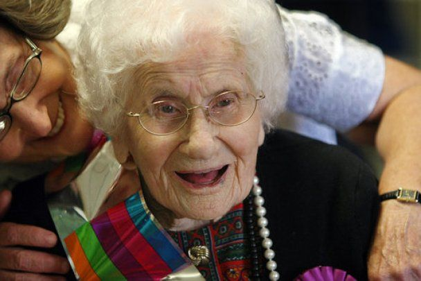 Самой старой жительнице Земли исполнилось 115 лет