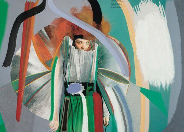Екстравагантна Бьорк вивернула душу навиворіт у фотосесії для Dazed&Confused