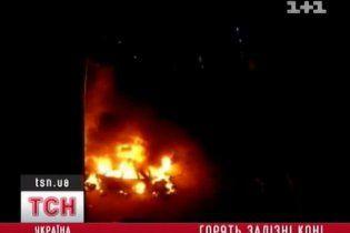 В Киеве за выходные сгорели 4 автомобиля: милиция бессильна