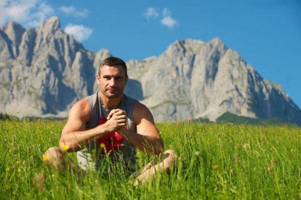 Последние дни в тренировочном лагере Кличко в Альпах