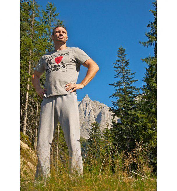 Останні дні у тренувальному таборі Кличка в Альпах