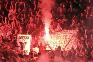 """УЕФА оштрафовала """"Барселону"""" за неправомерное поведение фанатов"""