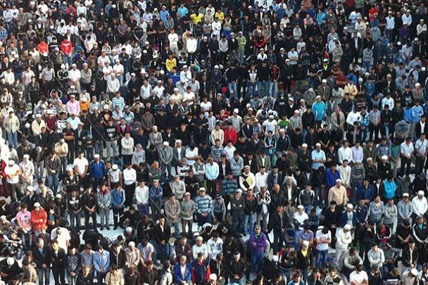 Свято Ураза-Байрам в Москві зібрало 50 тисяч віруючих