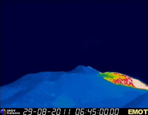 Вулкан Этна проснулся уже в 12-й раз с начала года