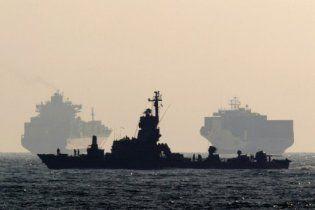 Израиль отправил военные корабли к границе Египта