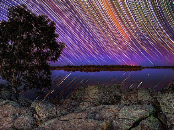 Австралійський фотограф зробив унікальні знімки обертання Всесвіту