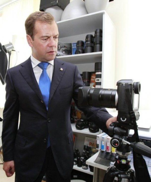 Президент Медведев 1 сентября провел с кадетами