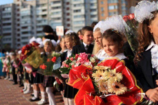 Президент Янукович признался учащимся, что в школе списывал