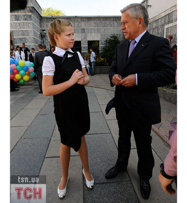 1 сентября VIP-учеников: Ющенко, Кинах и Порошенко пошли в школу