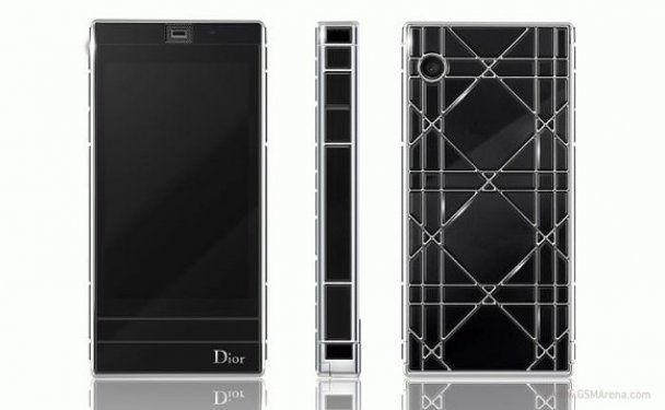 Dior представив дизайнерський смартфон, усипаний діамантами