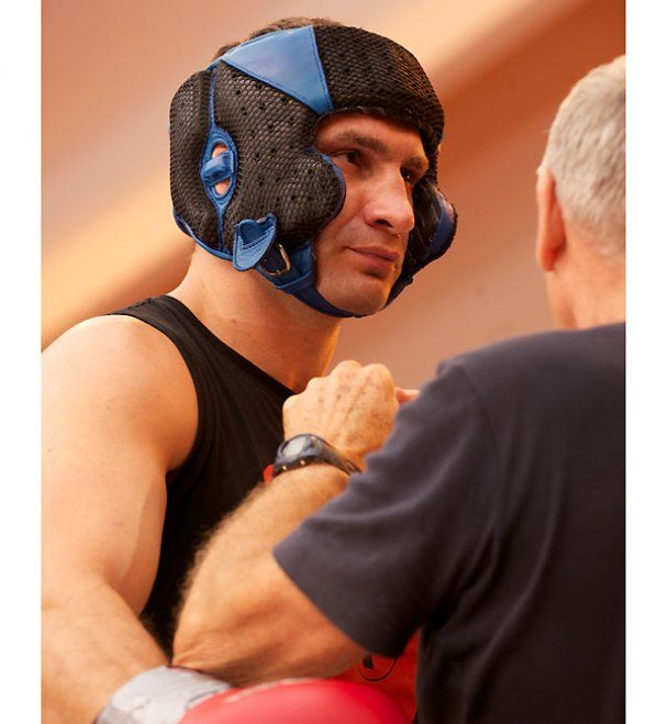 Кличко завершив тренування перед боєм з Адамеком