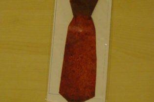 У Грузії з'явились їстівні краватки