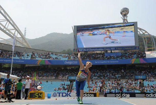 Украинцы на чемпионате мира по легкой атлетике в Тэгу