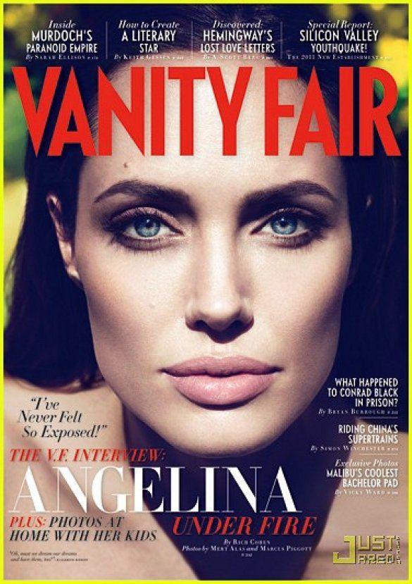 Джолі у Vanity Fair