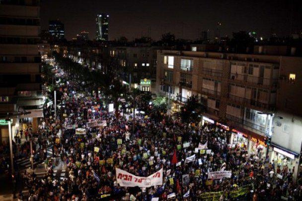 Израиль охватили массовые протесты против социальной несправедливости