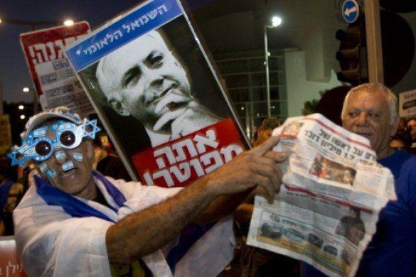 Марш мільйона, Ізраїль, протести_8