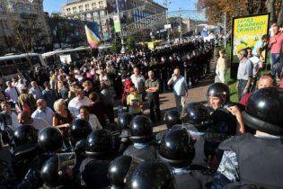 Среди задержанных на Крещатике - депутат и помощники нардепов