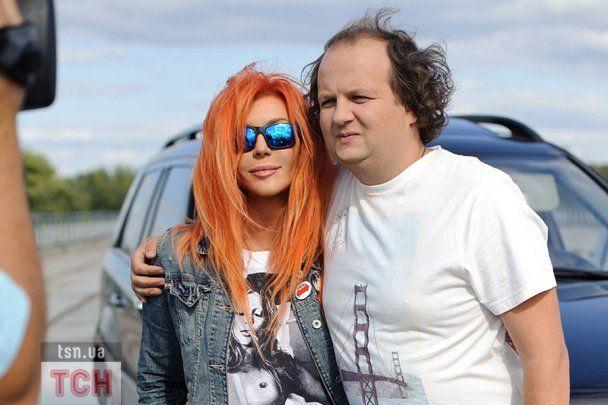 Руда Білик і Віктор Бронюк провели екстремальні зйомки