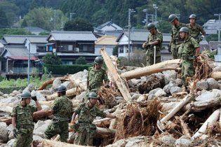В Японії через загрозу тайфуну евакуювали понад 400 тисяч людей