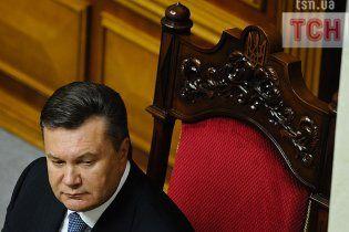 Янукович не тиснутиме на Раду задля Тимошенко