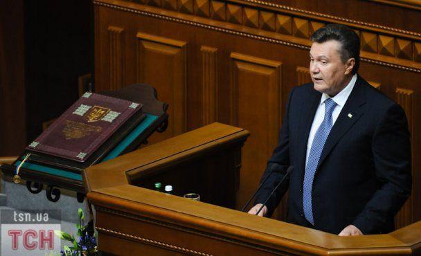 Опозиція принесла Януковичу в Раду Тимошенко і Луценка