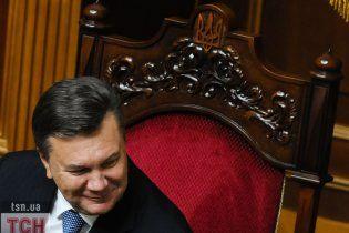 Янукович хочет подписи лидеров фракций под законопроектом о выборах