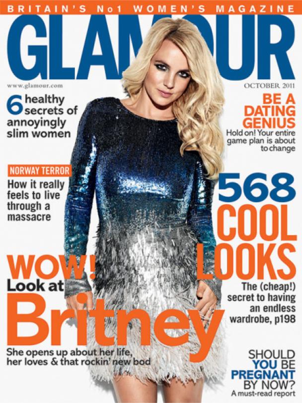 Зваблива Брітні покрасувалася новим тілом у британському Glamour