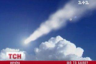 Величезна вогняна куля пролетіла над Одещиною
