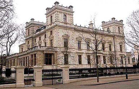 Маєток Романа Абрамовича у Лондоні Lindsey House