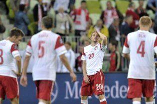 Польща створила сенсацію у грі з Німеччиною (відео)