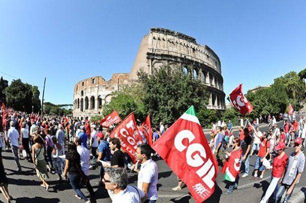 В Италии миллионы людей вышли на забастовку