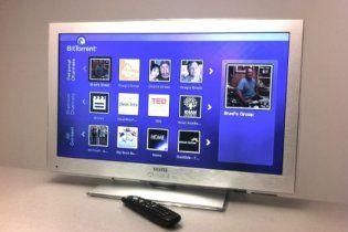 Появился первый в мире телевизор с торрент-клиентом