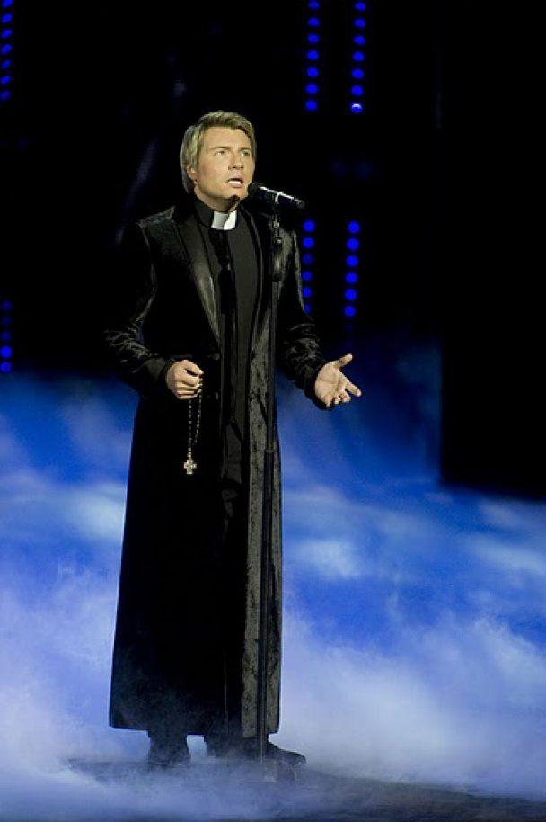 Лобода відривалася з мачо, а Басков став священиком