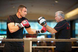 Последняя тренировка Кличко перед боем с Адамеком (видео)