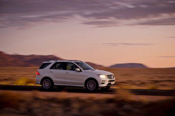 Європейська прем'єра нового Mercedes-Benz ML відбудеться в Києві