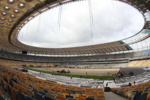 Головна арена Євро-2012 готова на 95%