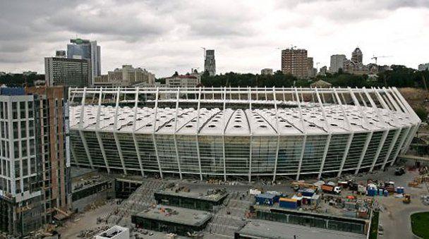 Головну арену чемпіонату Євро-2012 в Києві завершили на 95%
