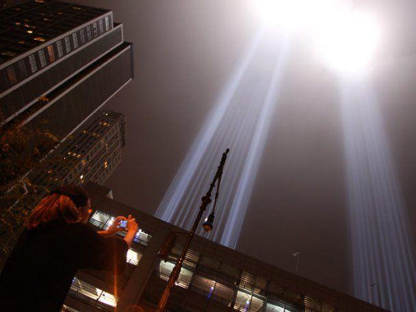 Оприлюднено унікальне відео з космосу терактів 9/11