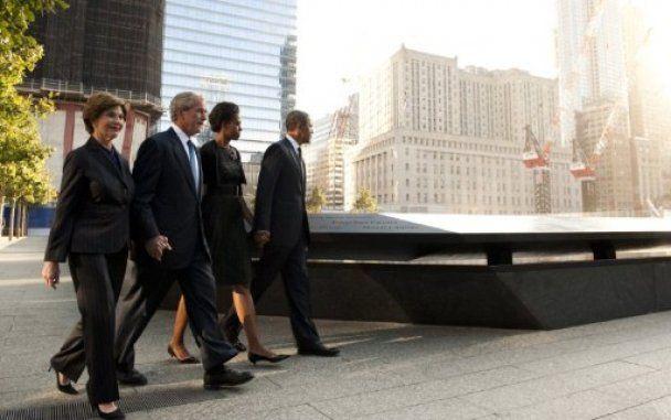 Обама і Буш вшанували пам'ять жертв терактів 9/11