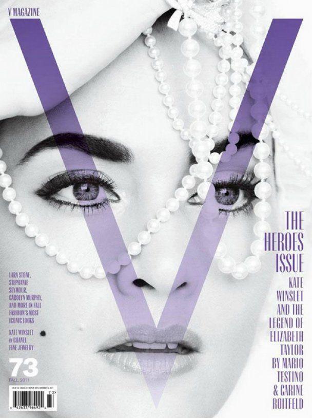 Британська зірка Кейт Вінслет постала у образі Елізабет Тейлор
