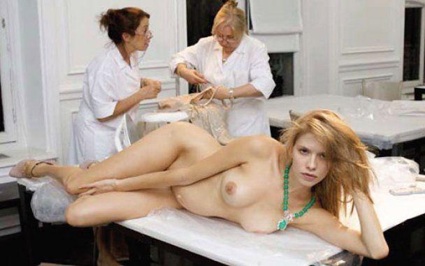 Беременная российская модель обнажилась для британского журнала