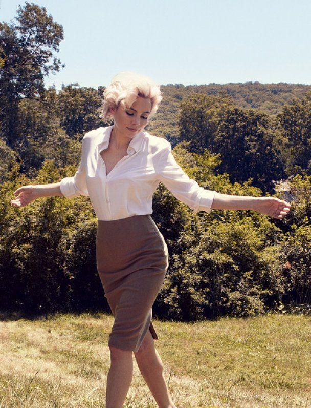 Чергова голлівудська зірка перевтілилась у Мерилін Монро