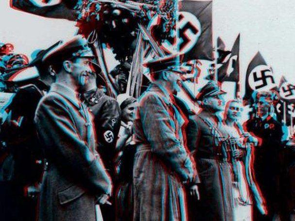 Опубликованы 3D снимки Гитлера, сделанные на Олимпиаде 1936 года