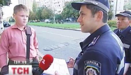Милиция пытается предотвратить несчастные случаи с детьми на дороге
